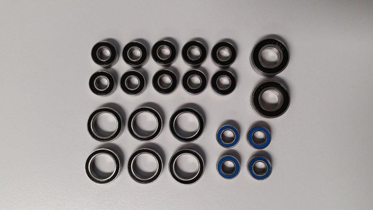 Kugellagerset Axial SCX10, AX10 und SMT10 - 22stk