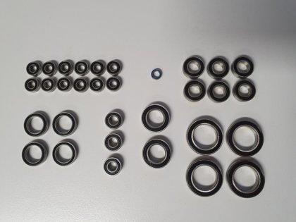 Kugellagerset E-Revo VXL 2.0 1:10, Lagersatz – 32stk
